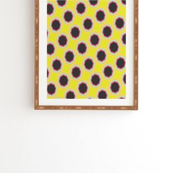 Allyson Johnson Neon Pattern Framed Wall Art