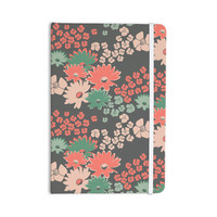 "Zara Martina Mansen ""Natures Bouquet"" Coral Green Everything Notebook"
