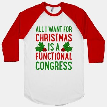 All I Want For Christmas Is A Functional Congress