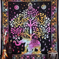 Large Elephant Tapestries , Hippie Tapestry , Tree of Life Tapestries , Wall Tapestries , Bohemian Tapestries, Indian Tapestry Wall Hanging