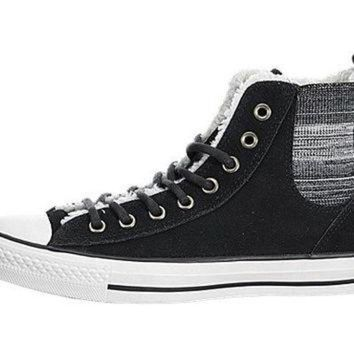 DCKL9 Converse Womens Chuck Taylor All Star Chelsee Shearling Sneaker