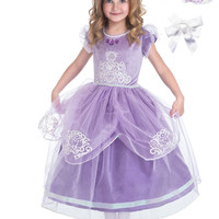 Little Adventures 5-Star Amulet Princess Dress Up with Necklace, Bracelet & Hairbow Age 3-6