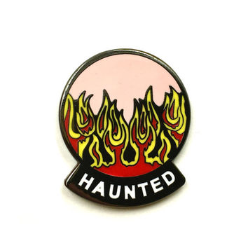 HAUNTED Ghost Ramp exclusive Enamel pin- Only 25 Available