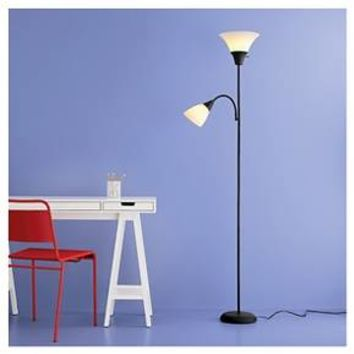 Torchiere Floor Lamp with Task Light - Room Essentials™
