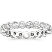 18K White Gold Solstice Eternity Diamond Ring