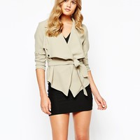 River Island Crop Trench