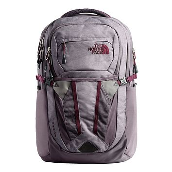 Women's Recon Backpack in Rabbit Grey Light Heather by The North Face