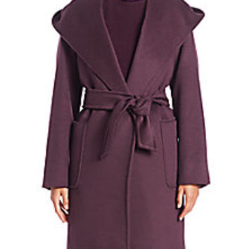 Max Mara - Rialto Wrap Coat - Saks Fifth Avenue Mobile