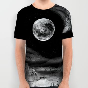 Between two moons All Over Print Shirt by Stoian Hitrov - Sto   Society6