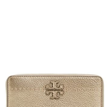 Tory Burch McGraw Leather Continental Wallet | Nordstrom