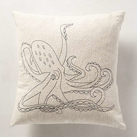 Twisting Tentacles Pillow