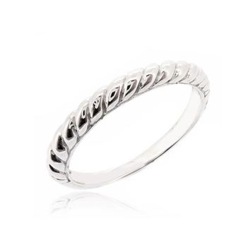 "STACK RING ""TWISTED ROPE"""