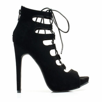 Super Star Platform Gladiator Heels