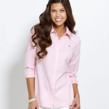 Women s Button Down Shirts  Libby Oxford Shirt for Women – Vineyard Vines c97adbd41
