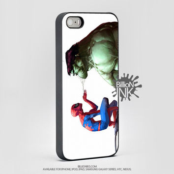 Funny Spiderman And Hulk Cell Phone Cases From Billionink Com