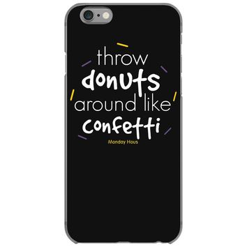 throw donuts iPhone 6/6s Case