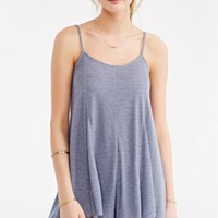 Project Social T Knit Romper- Blue