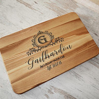 Personalised Wedding Cutting Board Couple Gift Custom Cutting board Personalised Wedding Gift Chopping board