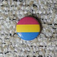 Pansexual Flag Button or Magnet