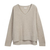 Boxy V Neck Sweater - Shop Online Chinti and Parker