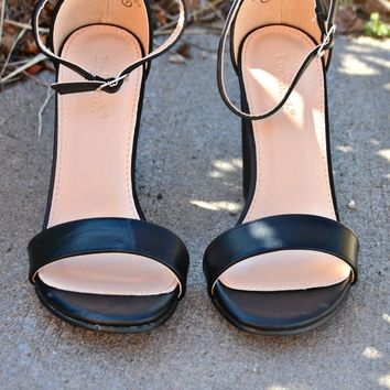 Count On You Heels - Black