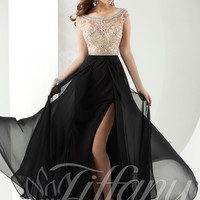 Off The Shoulders Tiffany Designs Prom Dress 16148