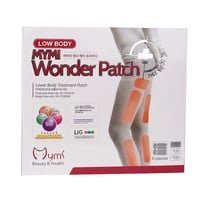 18pcs/box Model Favorite MYMI Wonder Slim Patch for Leg and Arm Slimming Products Weight Loss Burn Fat Paster Free Shipping