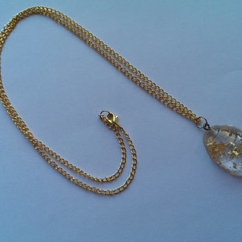 Fool's Gold Easter Egg Necklace