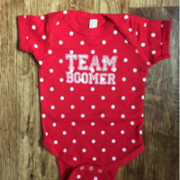 Team Boomer Polka Dot Onesuit-OU