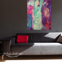 Festive Season     #holidays #Christmas #painting #gold #abstract by Andrea Anderegg Photography