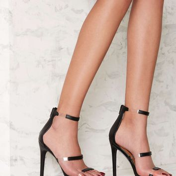 Nasty Gal Fit to Thrill Strappy Heel
