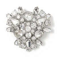 Banana Republic Sparkle Cluster Pin Size One Size - Crystal