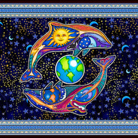Celestial Dolphin - Tapestry