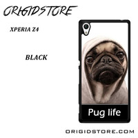 New Design Funny Hilarious Pug Life Parody Fans For Sony Xperia Z4 Case UY