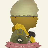 Moonrise Kingdom - Runaway Love - 11x14 - moonrise kingdom, wes anderson, bill murray, camp ivanhoe