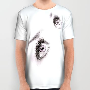 Eyes All Over Print Shirt by EDrawings38
