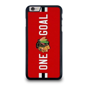 CHICAGO BLACKHAWKS ONE GOAL iPhone 6 / 6S Plus Case Cover