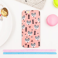 Hot Deal On Sale Cute Stylish Iphone 6/6s Iphone Korean Apple Matte Soft Innovative Cartoons Phone Case [8153002503]
