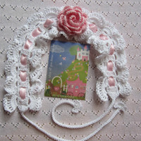 Crochet Girls Head BandsWhite Baby head band with by MILAVIKIDS