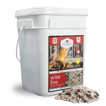 WiseFire Fire Starter - 4 Gallon Bucket
