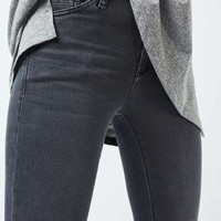 MOTO Dark Grey Leigh Jeans - New In