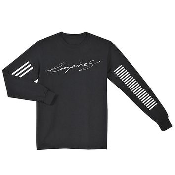 Empires Black Long Sleeve Shirt