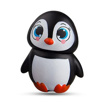 Simulation Penguin Doll Soft Squishy Slow Rising Toy
