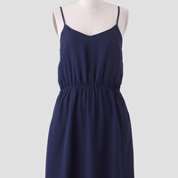 In Time Bow Back Dress