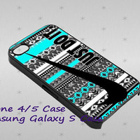 Nike Just Do It Aztec cover case for iphone case, Samsung Galaxy Case, iPod Case, HTC Case, Blackberry Case, Sony Case