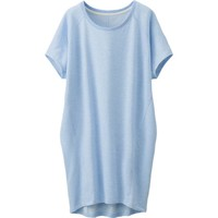 WOMEN SWEAT LOUNGE DRESS (SHORT SLEEVE) | UNIQLO