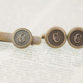 Parable Of The Sower • Cufflink & Tie Clip Set