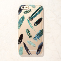 Blue Feather iPhone 6 Case