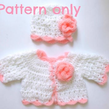 Crochet Baby Hat And Sweater Pattern : Best Newborn Baby Hat Crochet Pattern Products on Wanelo