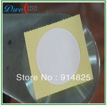 150pcs/lot + rfid nfc card, NFC tag , NFC paper stickers with topaz 512 chip round shape 30mm Diameter